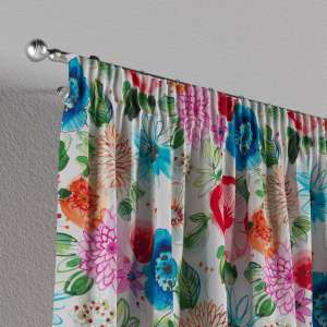 Pencil pleat curtains 130 x 260 cm (51 x 102 inch) in collection New Art, fabric: 140-24