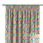 Pencil pleat curtains 130 x 260 cm (51 x 102 inch) in collection New Art, fabric: 140-27