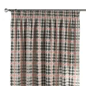 Gardin med rynkebånd 1 stk. 130 x 260 cm fra kolleksjonen Brooklyn , Stoffets bredde: 137-75