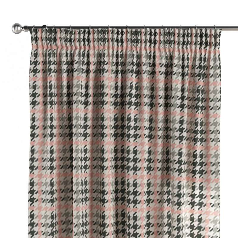 Záves na riasiacej páske V kolekcii Brooklyn, tkanina: 137-75