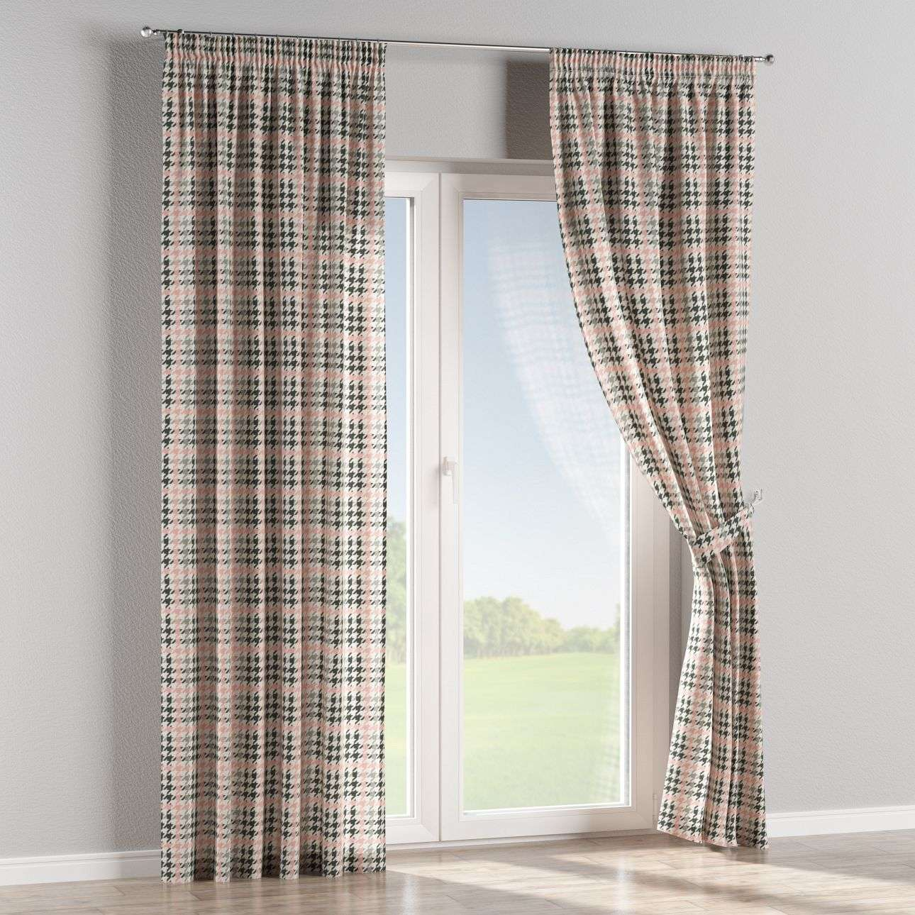 Pencil pleat curtains in collection Brooklyn, fabric: 137-75