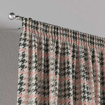 Pencil pleat curtains 130 x 260 cm (51 x 102 inch) in collection Brooklyn, fabric: 137-75
