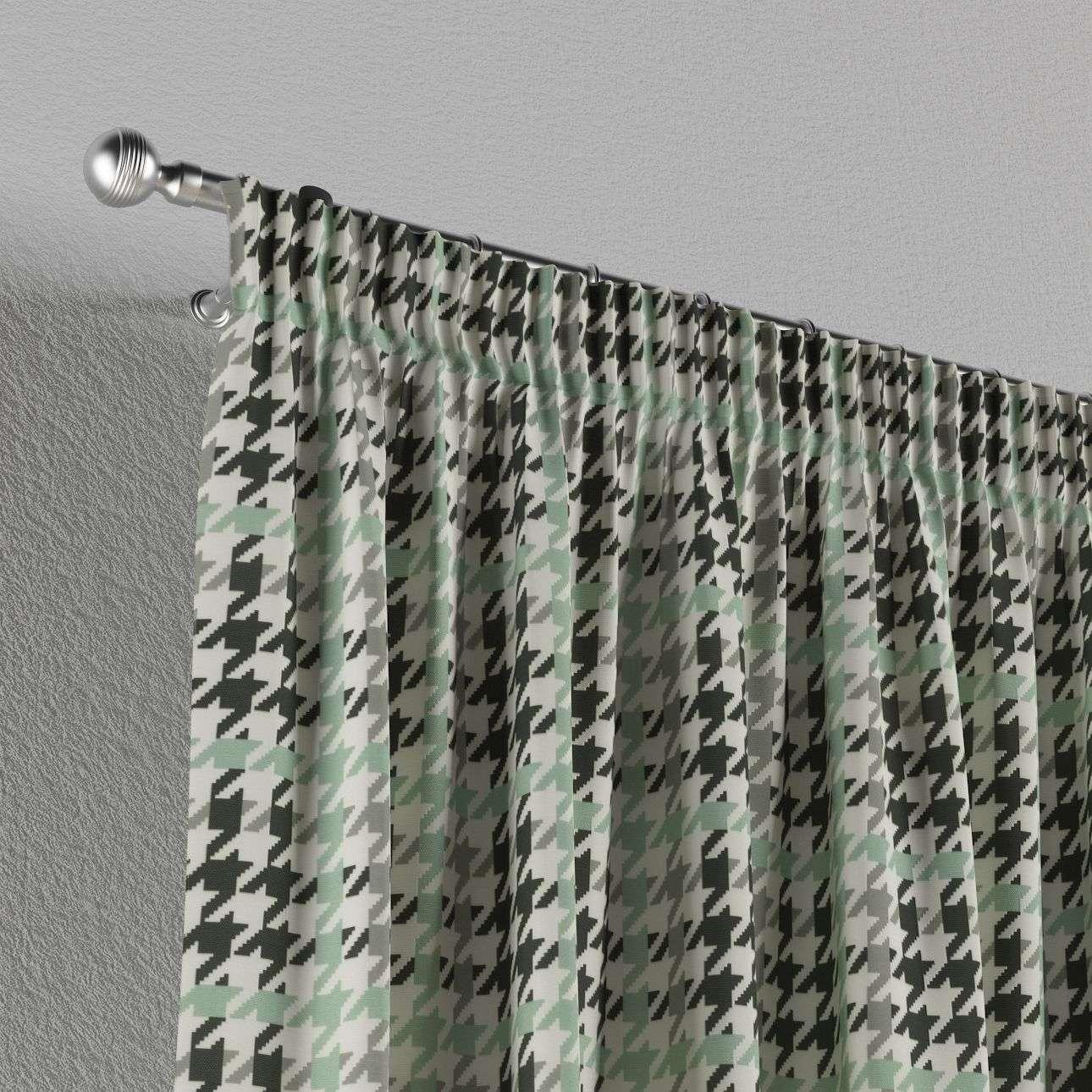 Pieštukinio klostavimo užuolaidos 130 x 260 cm (plotis x ilgis) kolekcijoje Brooklyn, audinys: 137-77