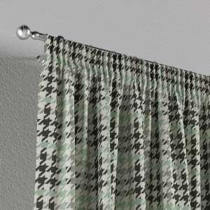 Gardin med rynkebånd 1 stk. 130 x 260 cm fra kolleksjonen Brooklyn , Stoffets bredde: 137-77