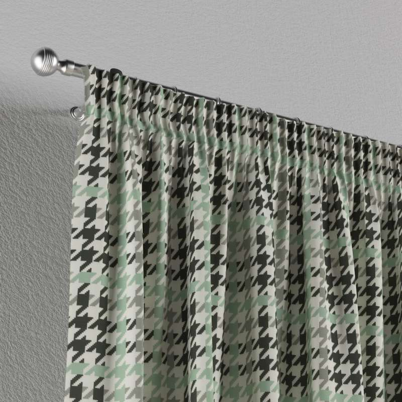 Pencil pleat curtains in collection Brooklyn, fabric: 137-77