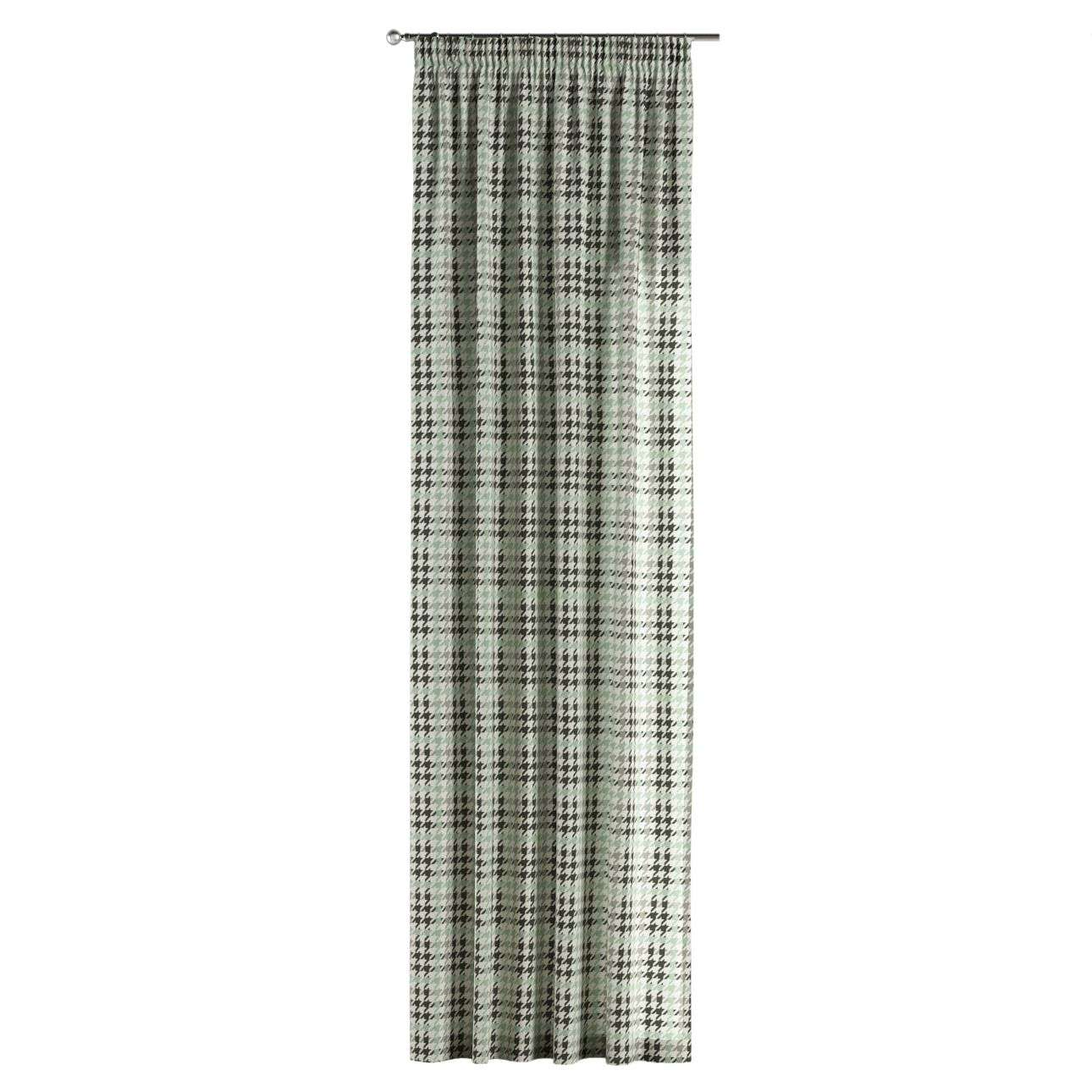 Vorhang mit Kräuselband 130 x 260 cm von der Kollektion Brooklyn, Stoff: 137-77