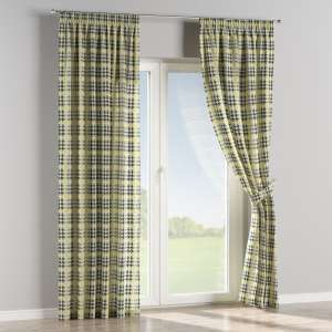 Pencil pleat curtains 130 x 260 cm (51 x 102 inch) in collection Brooklyn, fabric: 137-79