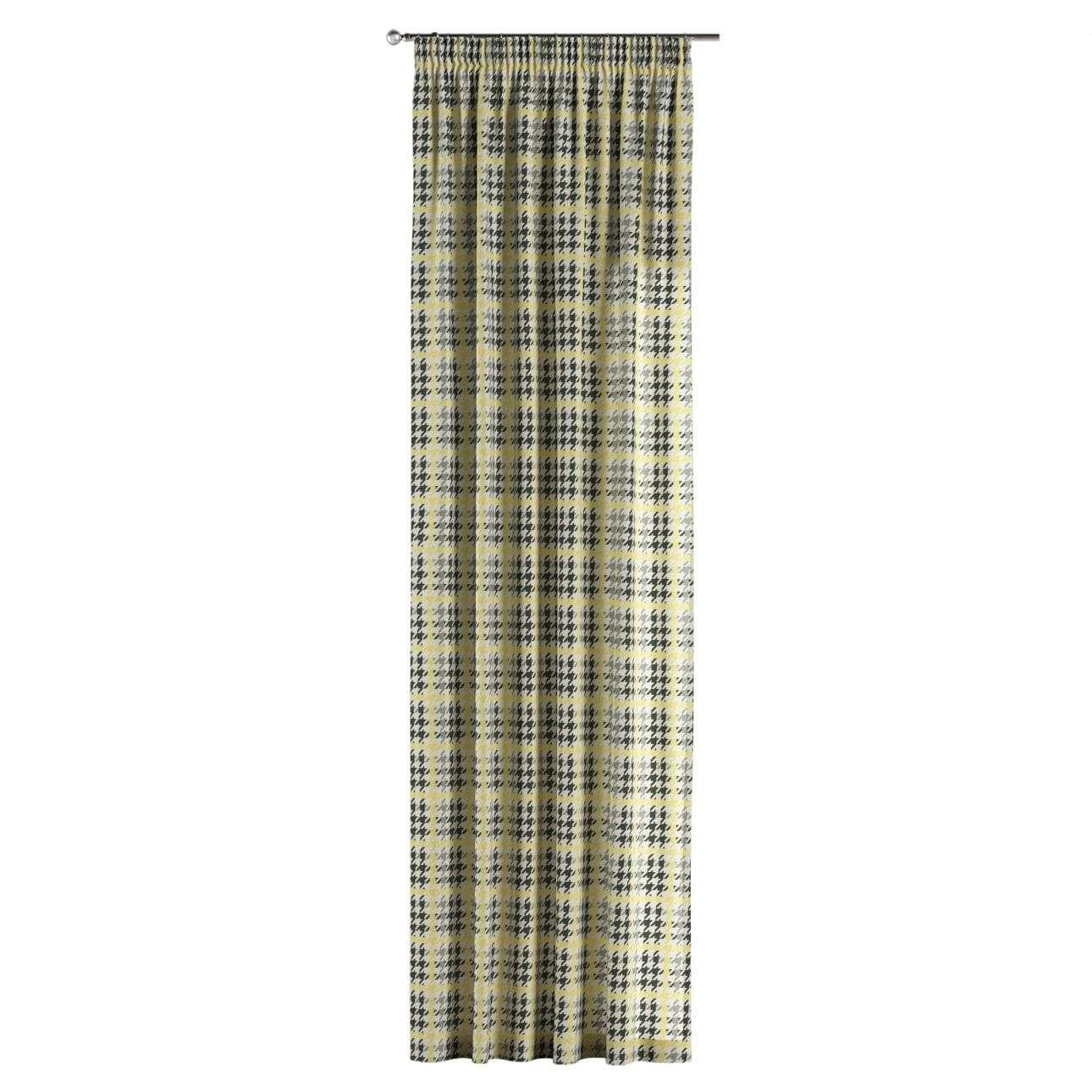 Vorhang mit Kräuselband 1 Stck. 130 x 260 cm von der Kollektion Brooklyn, Stoff: 137-79