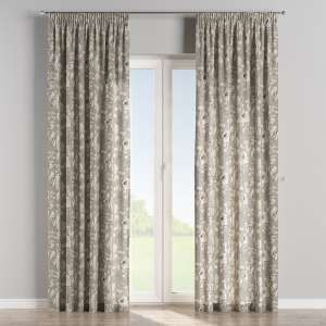 Pencil pleat curtains 130 x 260 cm (51 x 102 inch) in collection Brooklyn, fabric: 137-80