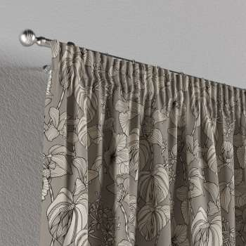 Pencil pleat curtains in collection Brooklyn, fabric: 137-80