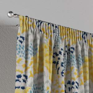 Pencil pleat curtains 130 x 260 cm (51 x 102 inch) in collection Brooklyn, fabric: 137-86