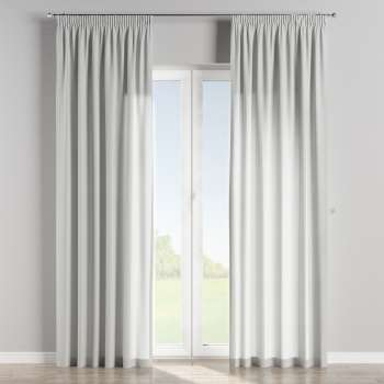 Pencil pleat curtains 130 x 260 cm (51 x 102 inch) in collection Brooklyn, fabric: 137-87