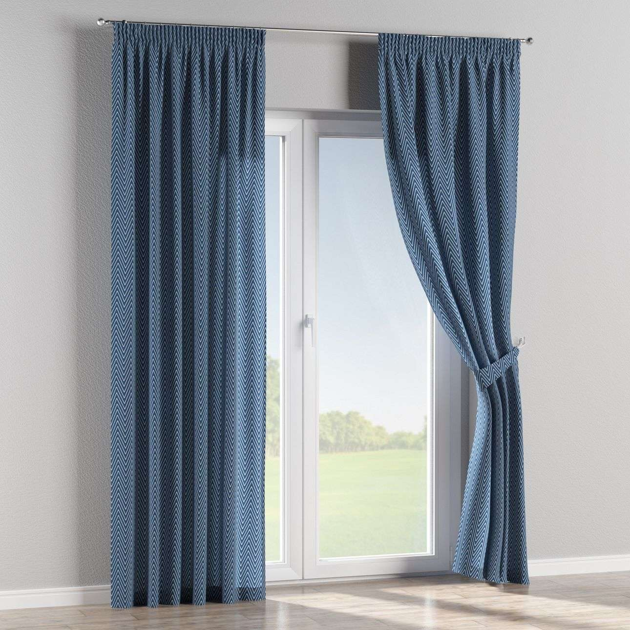 Pencil pleat curtains 130 × 260 cm (51 × 102 inch) in collection Brooklyn, fabric: 137-88