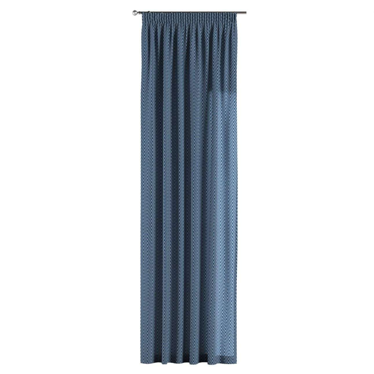 Pencil pleat curtains in collection Brooklyn, fabric: 137-88