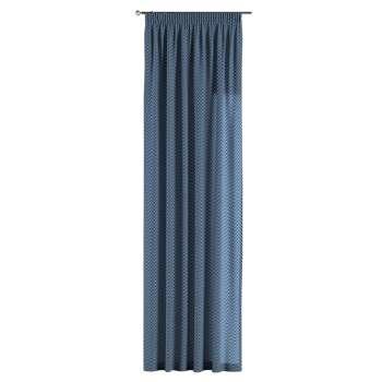 Gardin med rynkebånd 130 × 260 cm fra kollektionen Brooklyn, Stof: 137-88