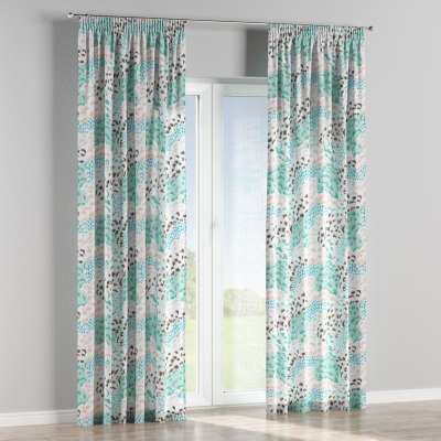 Pencil pleat curtains in collection Brooklyn, fabric: 137-89