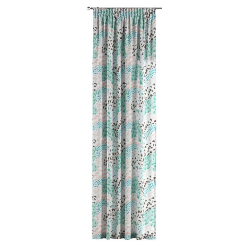Pencil pleat curtain in collection Brooklyn, fabric: 137-89