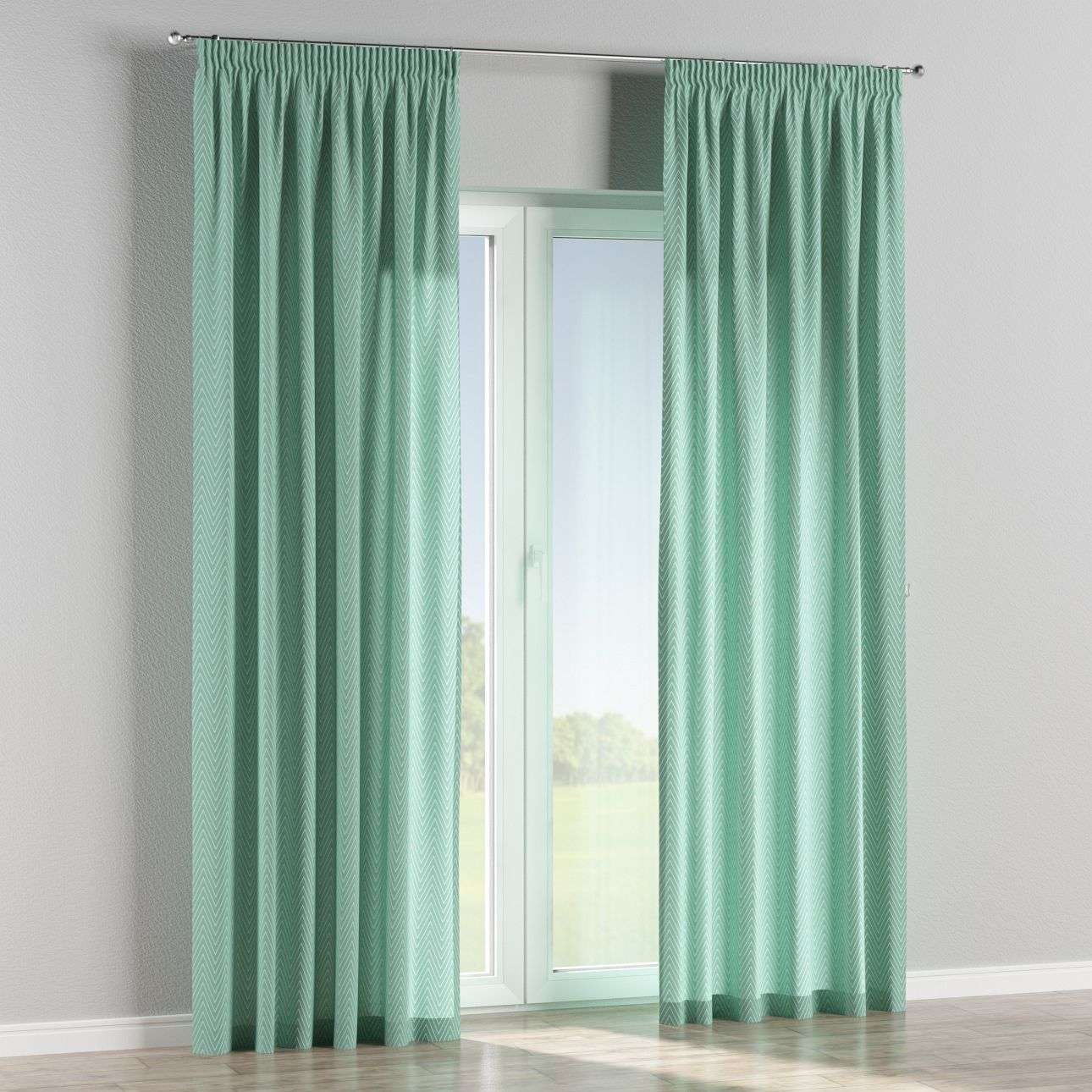 Pencil pleat curtains in collection Brooklyn, fabric: 137-90