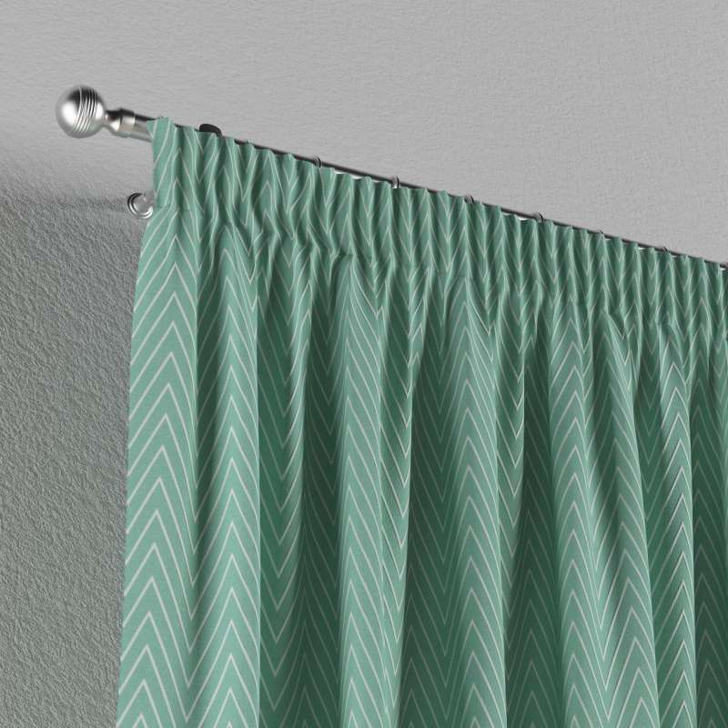 Pencil pleat curtain in collection Comics/Geometrical, fabric: 137-90