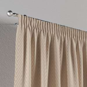 Pencil pleat curtains 130 x 260 cm (51 x 102 inch) in collection Brooklyn, fabric: 137-91