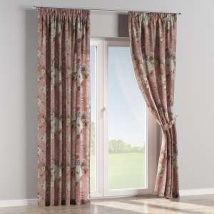 Pencil pleat curtains 130 x 260 cm (51 x 102 inch) in collection Monet, fabric: 137-83