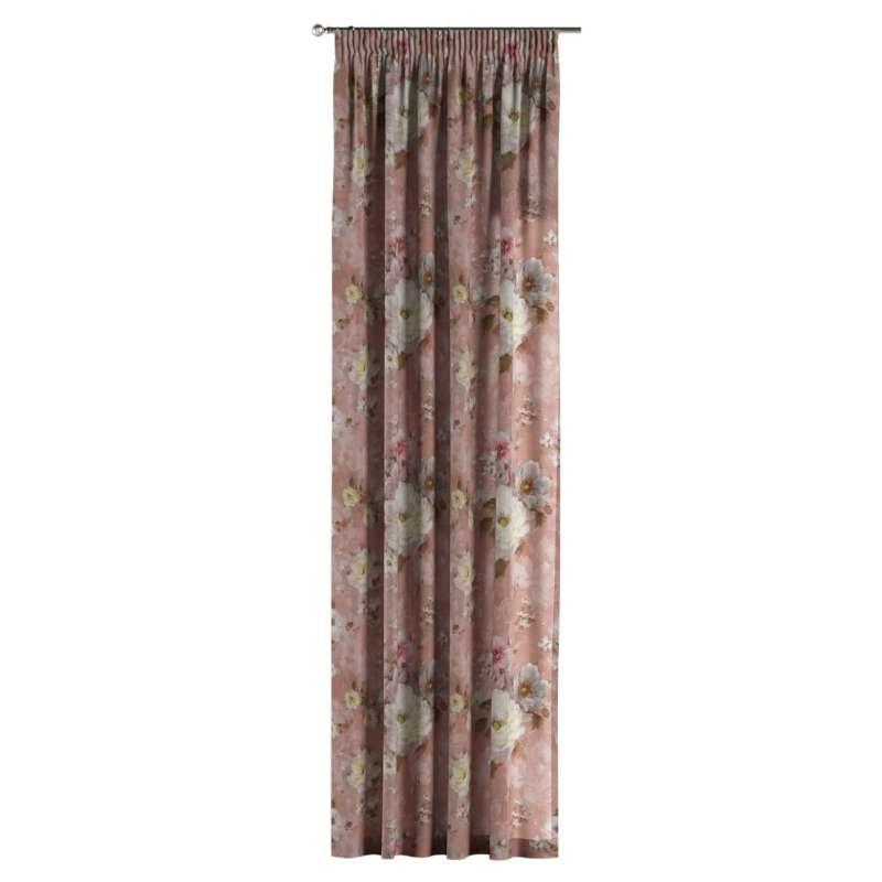 Užuolaidos pieštukinio klostavimo 1 vnt. kolekcijoje Flowers, audinys: 137-83