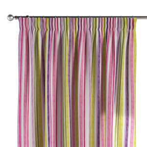 Pencil pleat curtains 130 x 260 cm (51 x 102 inch) in collection Monet, fabric: 140-01