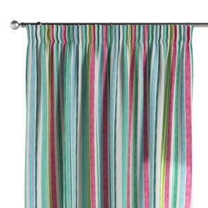 Pencil pleat curtains 130 x 260 cm (51 x 102 inch) in collection Monet, fabric: 140-03