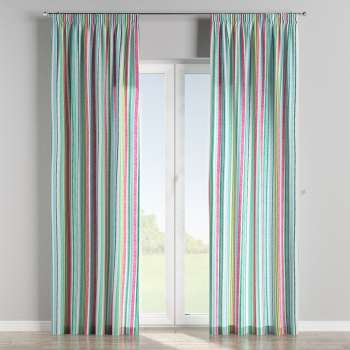 Pencil pleat curtains 130 × 260 cm (51 × 102 inch) in collection Monet, fabric: 140-03