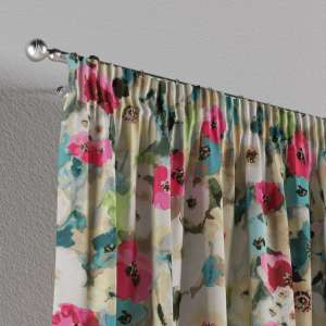 Pencil pleat curtains 130 x 260 cm (51 x 102 inch) in collection Monet, fabric: 140-08