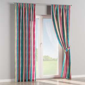 Pencil pleat curtains 130 x 260 cm (51 x 102 inch) in collection Monet, fabric: 140-09