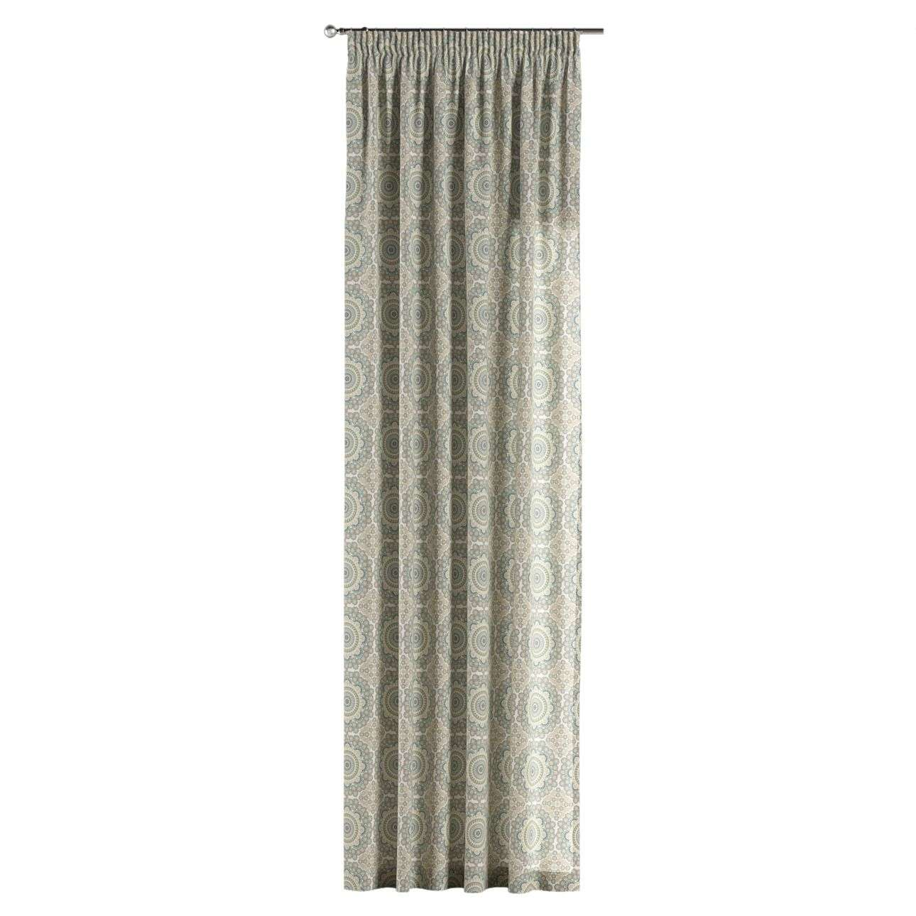Pencil pleat curtains 130 x 260 cm (51 x 102 inch) in collection Comic Book & Geo Prints, fabric: 137-84