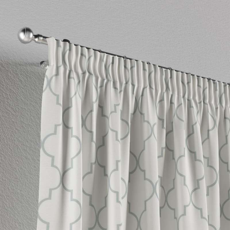 Pencil pleat curtain in collection Comics/Geometrical, fabric: 137-85