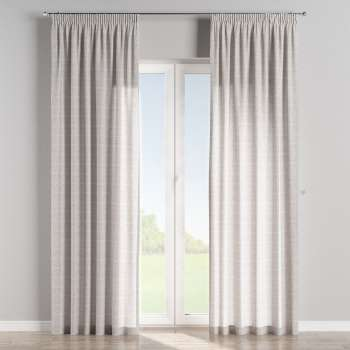 Pencil pleat curtains 130 x 260 cm (51 x 102 inch) in collection Flowers, fabric: 140-38