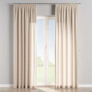Pencil pleat curtains 130 x 260 cm (51 x 102 inch) in collection Flowers, fabric: 140-39
