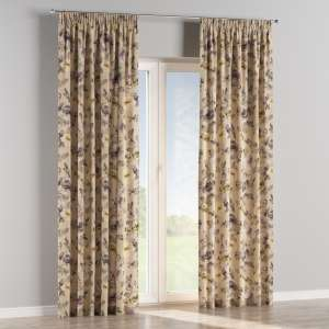 Pencil pleat curtains 130 x 260 cm (51 x 102 inch) in collection Londres, fabric: 140-44