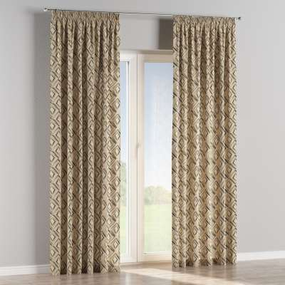 Pencil pleat curtains in collection SALE, fabric: 140-46