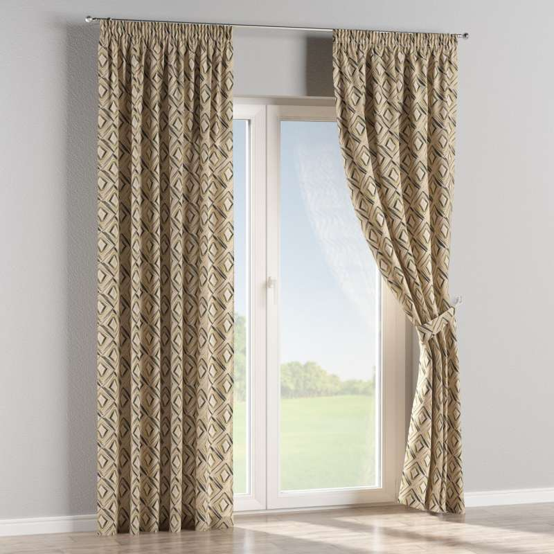 Pencil pleat curtain in collection SALE, fabric: 140-46