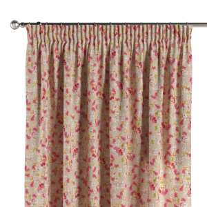 Pencil pleat curtains 130 x 260 cm (51 x 102 inch) in collection Londres, fabric: 140-47