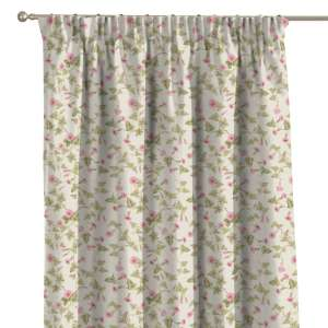 Pencil pleat curtains 130 x 260 cm (51 x 102 inch) in collection Mirella, fabric: 140-41