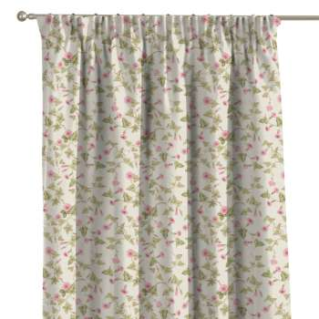 Pencil pleat curtains in collection Mirella, fabric: 140-41