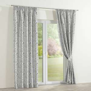 Pencil pleat curtains 130 x 260 cm (51 x 102 inch) in collection Mirella, fabric: 140-42