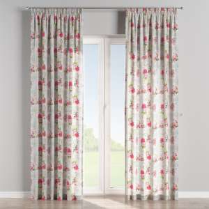 Pencil pleat curtains 130 x 260 cm (51 x 102 inch) in collection Ashley, fabric: 140-19