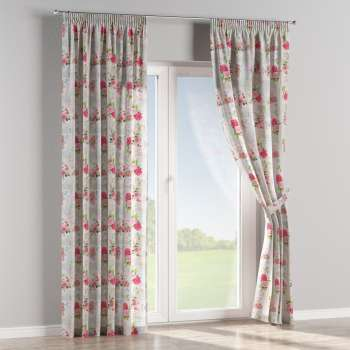 Pencil pleat curtains in collection Ashley, fabric: 140-19
