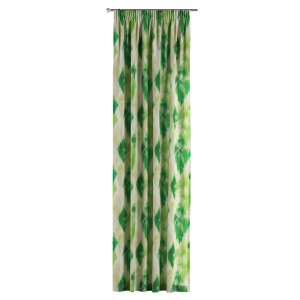Pencil pleat curtains 130 x 260 cm (51 x 102 inch) in collection Aquarelle, fabric: 140-70
