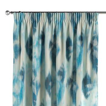 Pencil pleat curtains 130 x 260 cm (51 x 102 inch) in collection Aquarelle, fabric: 140-71