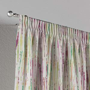 Pencil pleat curtains 130 x 260 cm (51 x 102 inch) in collection Aquarelle, fabric: 140-72