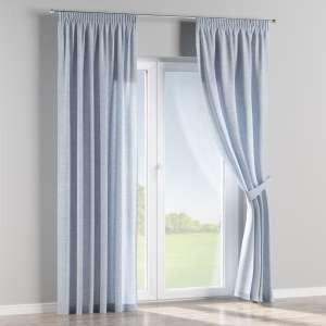 Pencil pleat curtains 130 x 260 cm (51 x 102 inch) in collection Aquarelle, fabric: 140-74