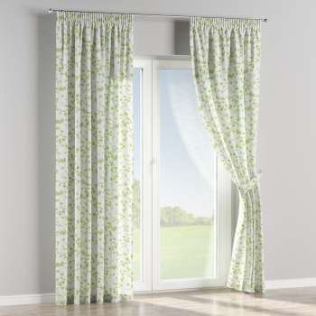 Pencil pleat curtains 130 x 260 cm (51 x 102 inch) in collection Aquarelle, fabric: 140-76