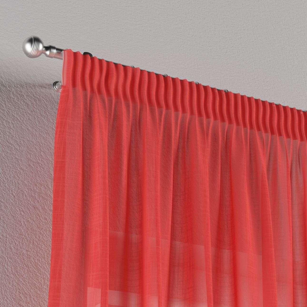 Vorhang mit Kräuselband 130 x 260 cm von der Kollektion Romantica, Stoff: 128-02